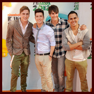 Big Time Rush @ The 2012 KCAs