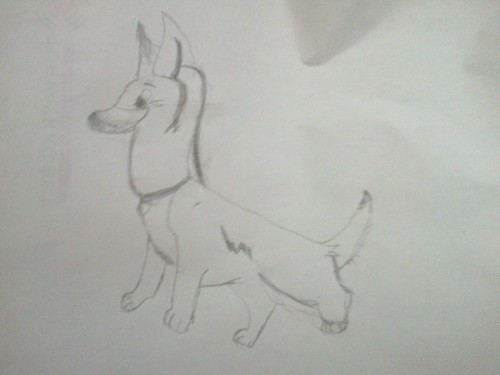 Bolt,Drawn Von me!(With pencil)