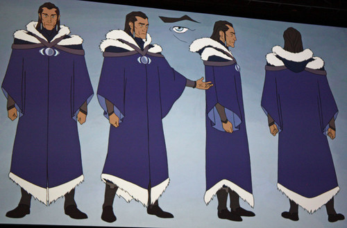 Avatar, La Légende de Korra fond d'écran entitled Book 2, SPIRIT, Concept Art