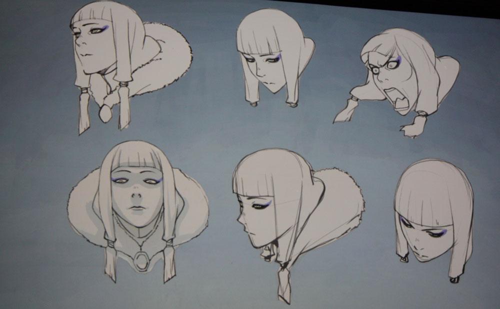 Avatar the legend of korra book 2 spirit concept art