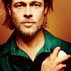 Brad Pitt photo containing a portrait entitled Brad Pitt
