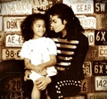 Brandi Jackson and her uncle Michael Jackson ♥♥