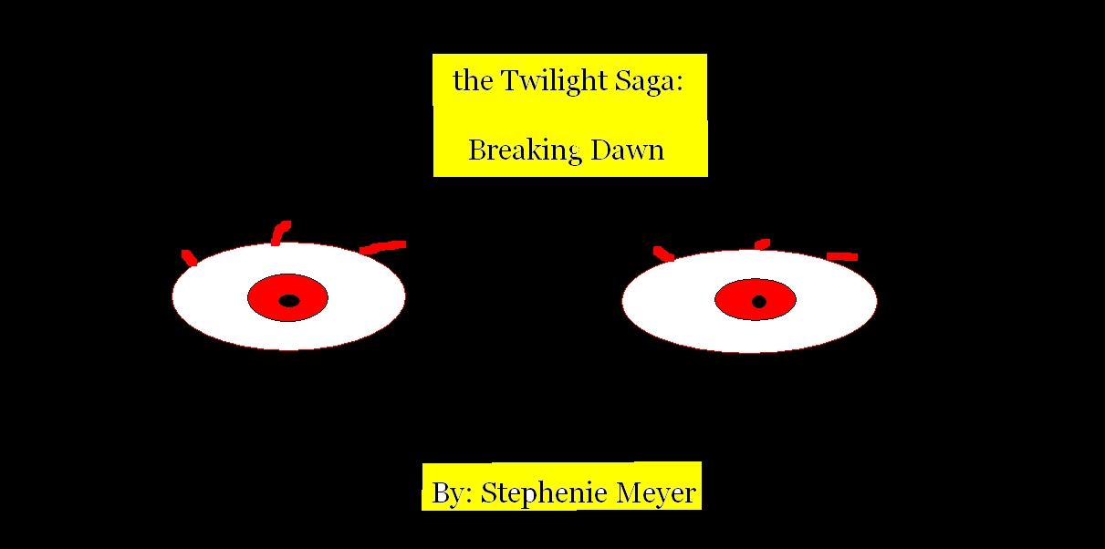 Breaking Dawn cover, 粉丝 art!!!!!