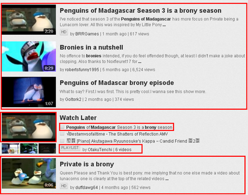 Bronies Turn Into Fanguins :D