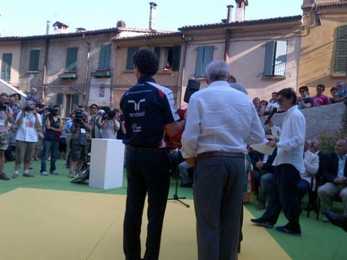 Bruno Senna Awarded Lorenzo Bandini Trophy