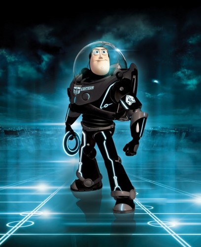 Buzz in Tron
