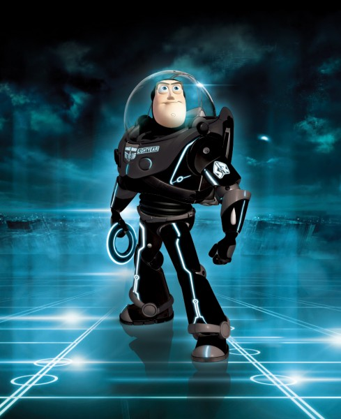 Buzz Lightyear Images Buzz In Tron Wallpaper And Background Photos