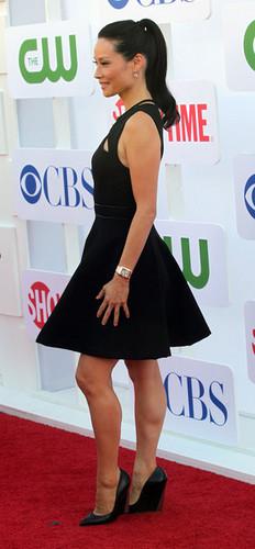 루시 루 바탕화면 titled CBS, The CW & Showtime 2012 TCA Party [July 29, 2012]