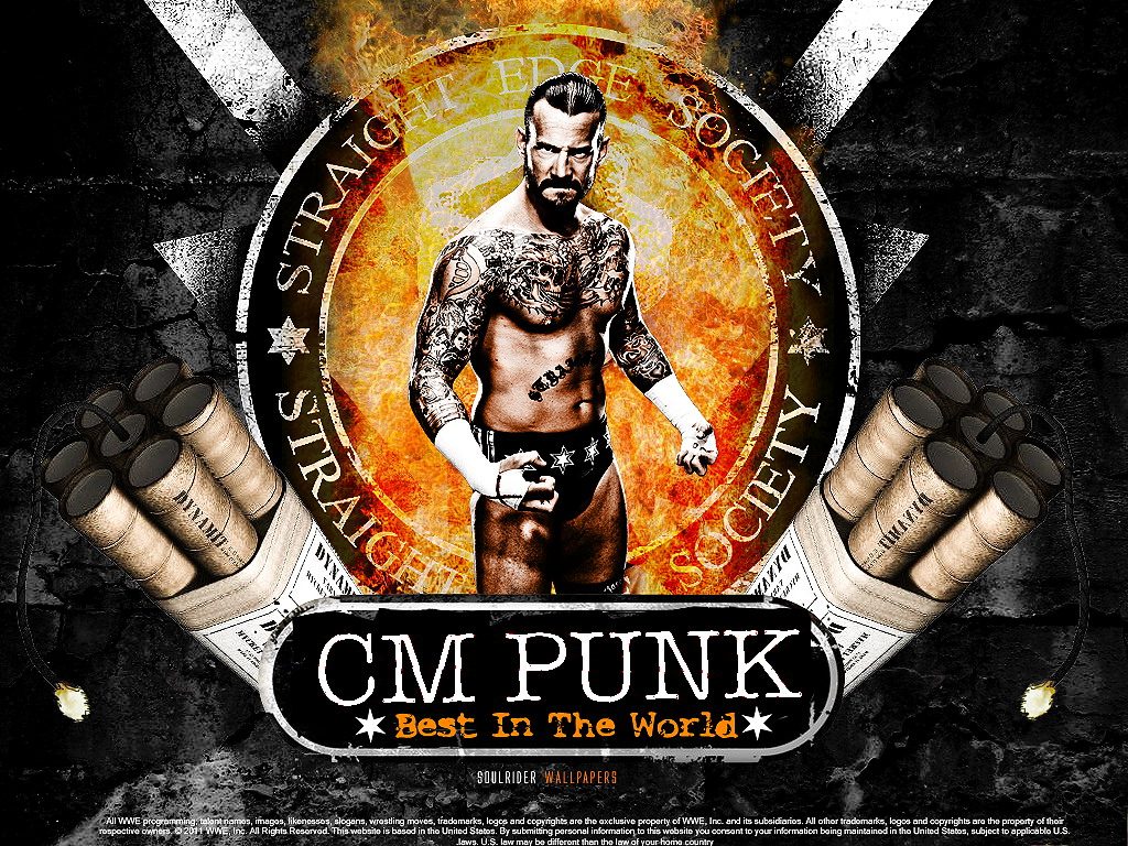 cm punk cm punk wallpaper 31689040 fanpop