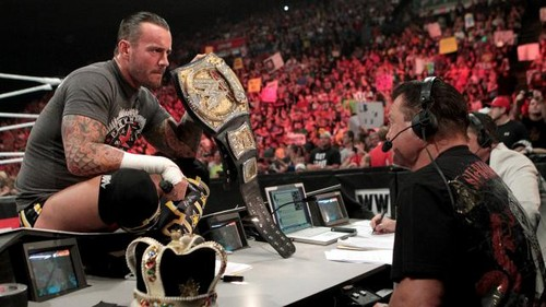 CM Punk explains his actions - cm-punk Photo