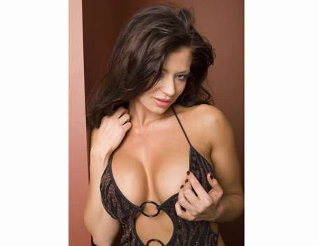 Candice Michelle پیپر وال possibly containing attractiveness, a lingerie, and a bustier, بسٹیر titled Candice Michelle Photoshoot Flashback
