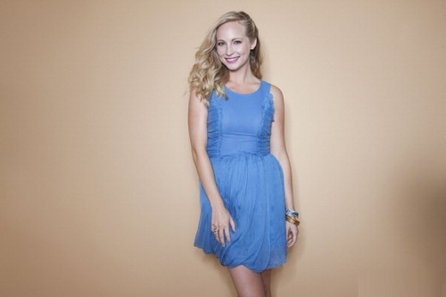 Candice's TV Guide portraits from Comic Con 2011 .