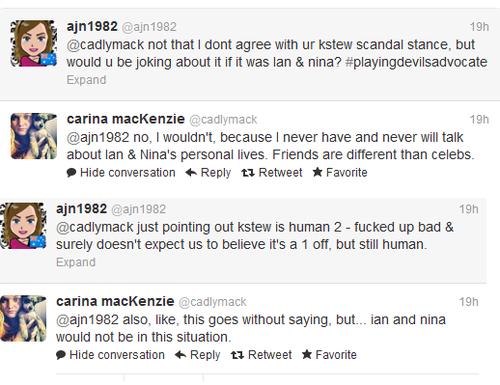 Carina Talks Nian and Robsten