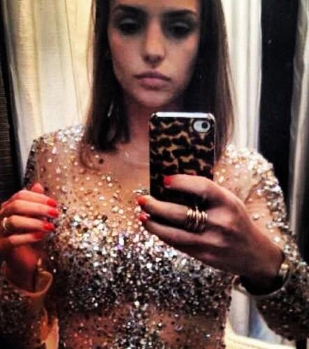 "Caroline Celico - shooting inspired سے طرف کی Hollywood""s divas"