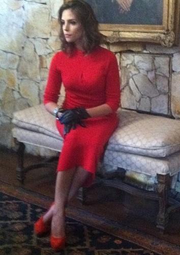 "Caroline Celico - shooting inspired por Hollywood""s divas"