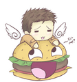 Cas and Burger