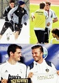 Casillas and Beckham - iker-casillas photo