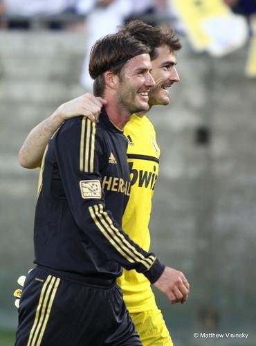 Casillas and Beckham