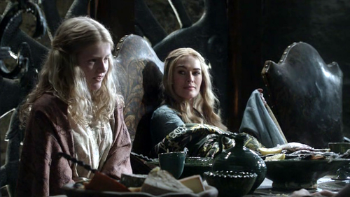 Cersei and Myrcella