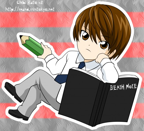 death note chibi light - photo #10