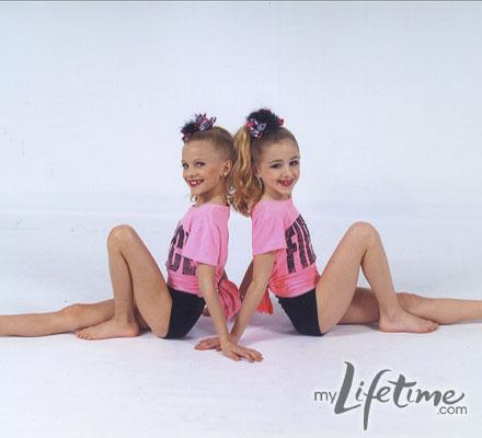 Chloe and Paige dance picture