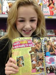 Chloe's In A Magazine!