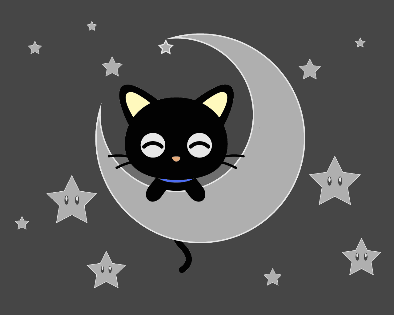 Wall Stickers Black Chococat Images Chococat Wallpaper Hd Wallpaper And