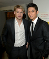 Chord and Harry at the Dizzy Feet foundation, July 28th 2012