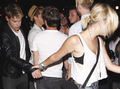 Chord and friends leave Bootsy Bellows, July 28th 2012