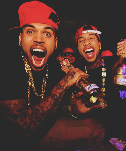Chris Brown with Tyga!!!! ;) :) - chris-brown Photo