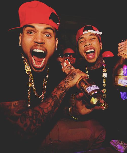 Chris Brown with Tyga!!!! ;) :)