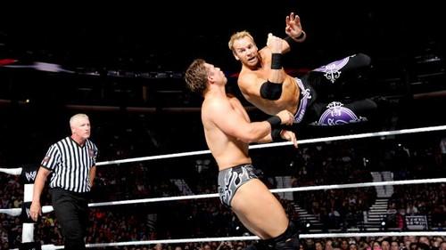 Christian vs The Miz (Bret Hart as ring announcer)