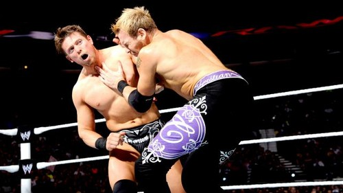 Christian vs The Miz for the IC Titel