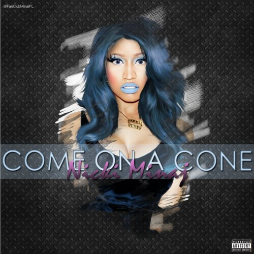 Nicki Minaj پیپر وال containing a chainlink fence entitled Come On A Cone