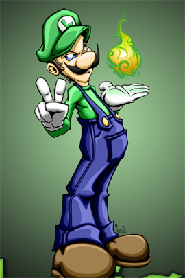 Cool Luigi