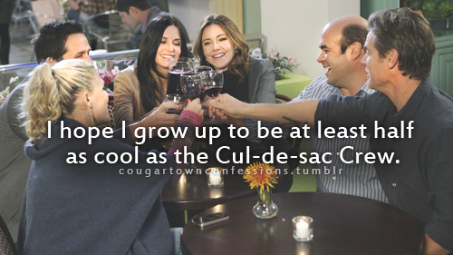 Cougar Town Confessions