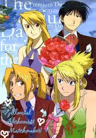 full metal alchemist couples wolpeyper containing anime called Couple's together