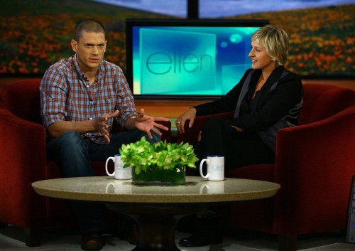 Cuma, Mart 13, 2009 Wentworth Miller on Ellen DeGeneres tunjuk - September 17 2007