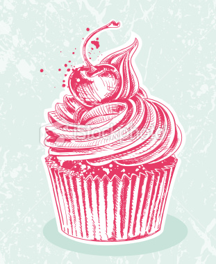 Cupcake Drawing Images : Cupcake Gallery images Cupcake drawing and painting ...