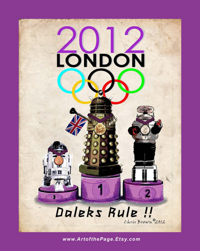 Dalek wins Olympic 金牌 !