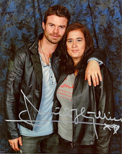 Daniel Gillies & Me. 2012 SanFrancisco, CA Vampire Diaries convention