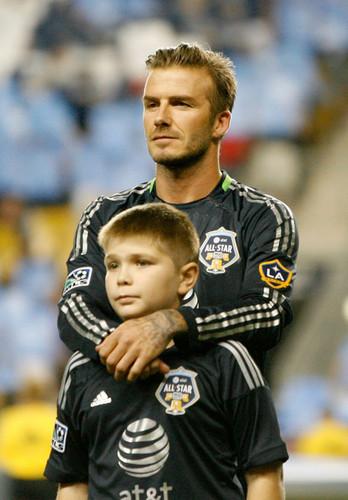 David Beckham -AT&T MLS All star, sterne Game - Chelsea v MLS All Stars