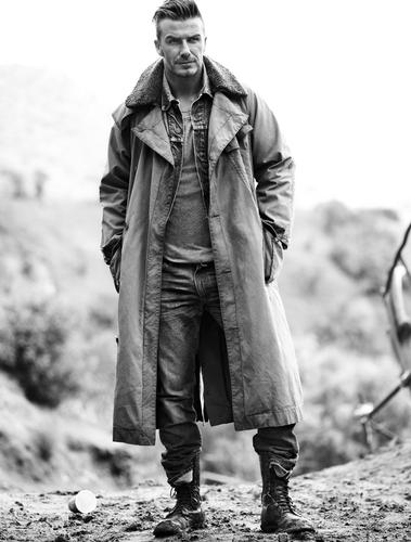 David Beckham: Esquire UK
