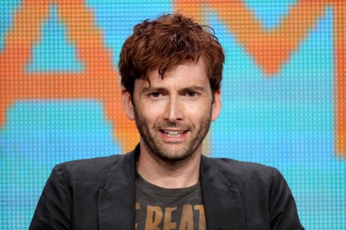 David Tennant At Yesterday's Spies Of Warsaw TCA Panel(August 1)