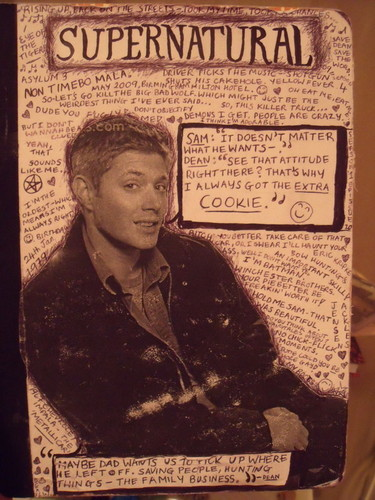 Supernatural wolpeyper containing anime entitled Dean