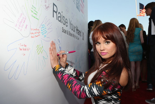 Debby Ryan at the Staples, dosomething. org, 22 july 2012