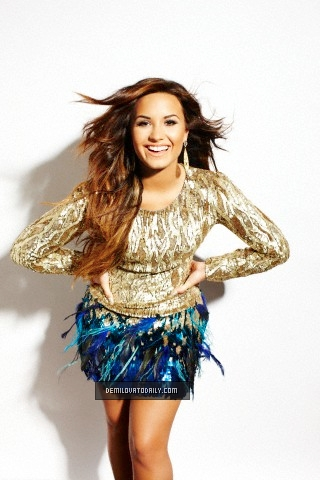 Demi Lovato wallpaper possibly containing a bustier entitled Demi - Photoshoots 2011 - T Corbett