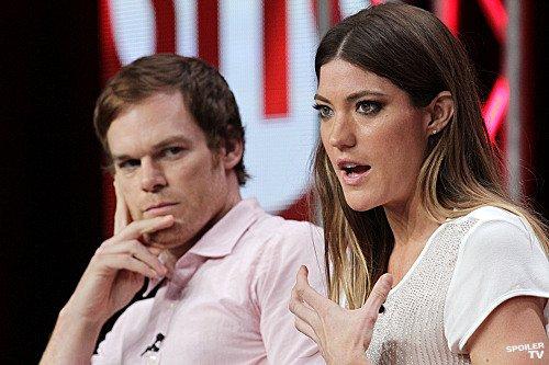 Dexter kertas dinding containing a portrait entitled Dexter Cast @ TCA 2012 Panel