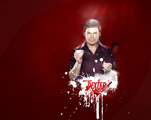 Dexter wallpaper probably containing a sign entitled Dexter Wall