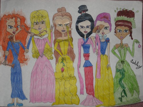 Disney Princesses Winx Club Style